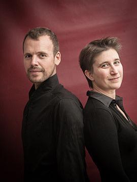 La pianiste Anne Le Bauzec et le chanteur Marc Mauillon