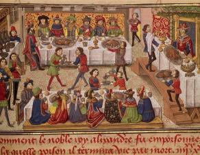 Manuscrit histoire du Grand Alexandre