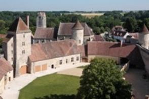 Partie Nord de l'enceinte du château.