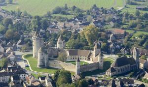 Vue du château en hauteur