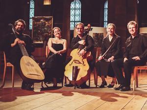 Les 5 musiciens de l'Ensemble Double Face