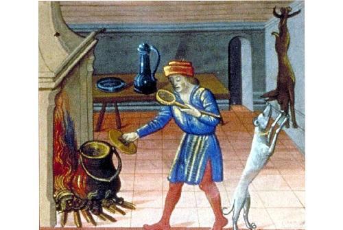 La cuisine était faite par les hommes