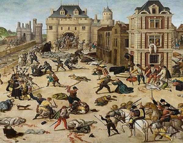 Le massacre de la Saint-Barthélémy